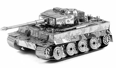 Metal Earth German Tiger 1 Tank 3D Laser Cut Highly Detailed WWII Model