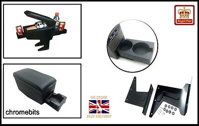 Universal Black Quality Arm rest Armrest Centre Console for car van bus New