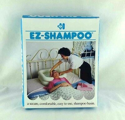 EZ-Shampoo Inflatable Hair Washing Basin Homecare Products Assisted Care NEW