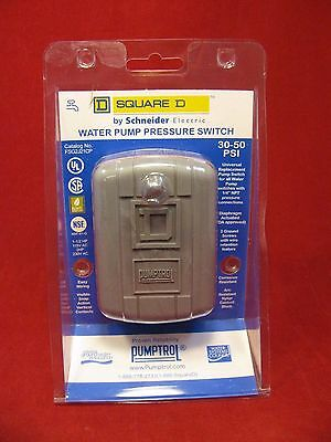 NEW Square D 30 - 50 PSI Water Pump Pressure Switch 80785
