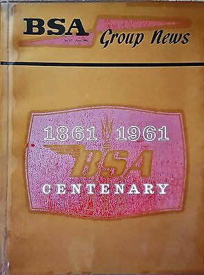 BSA Group News No 17 published June 1961 to celebrate the 1861 to 1961 Centenary