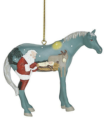 """NEW IN BOX - Trail of Painted Ponies """"In a Manger"""" Ornament"""