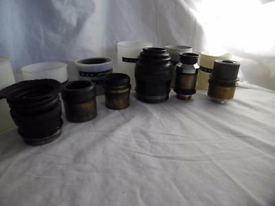 Collection of 6 various military optic sights, eyepieces