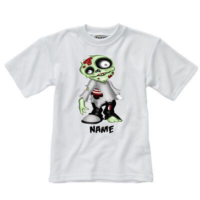 Personalised Children's T-Shirt - Zombies - Style 3