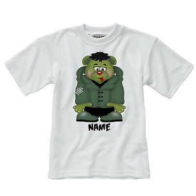 Personalised Children's T-Shirt - FrankieBear - Style 2