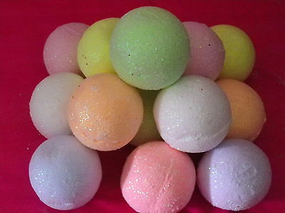 6 LARGE BATH BOMBS FIZZY10 LUSH mix FRAGRANCE  Valentine's Gift  Romanti SALE