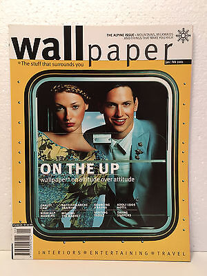 WALLPAPER magazine No. 35 Issue January/February 2001 - TYLER BRULE