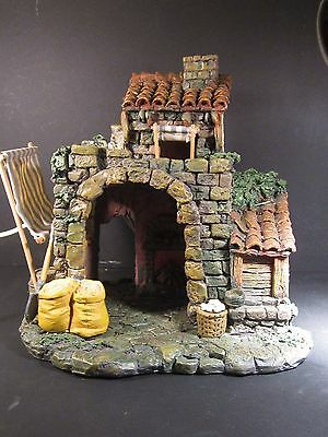 "Roman Fontanini  #50150 VILLAGE BAKERY Village Nativity Accessory for 5"" Figures"