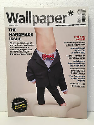 WALLPAPER magazine No. 161 Issue August 2012 - The Handmade Issue