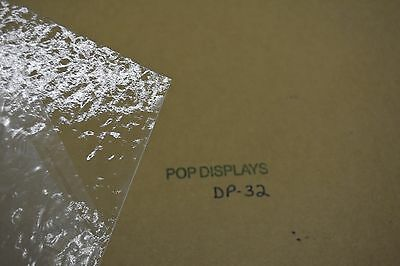 """Textured Patterned Clear Acrylic Sheet Dp-32  1/4"""" X 48"""" X 15.875"""""""