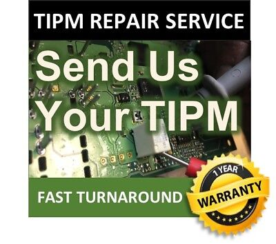 JEEP Wrangler Totally Integrated Power module TIPM REPAIR SERVICE 68217404AC
