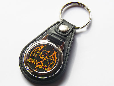 BLIND GUARDIAN Power Metal Band Premium Leather & Chrome Keyring
