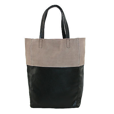 New CTM Women's Suede Top Tote Handbag