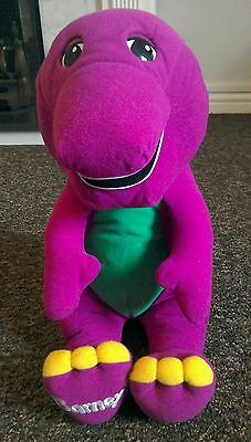 Fisher Price Jumbo Talking Barney 20 Inch Soft Toy free postage
