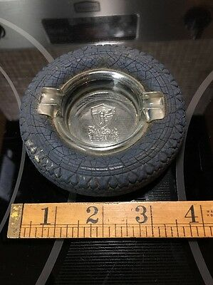 Early Last Century Firestone The Mark Of Quality Tire Ashtray Small Size