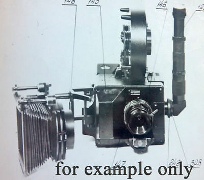 Motion control stop combined animation 35mm movie camera 5KSM OST-19 w magazines