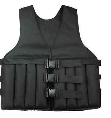 Deluxe Weighted Weight 5, 10, 15, 20, 25, 30 kg Vest Comfortable Gym Training