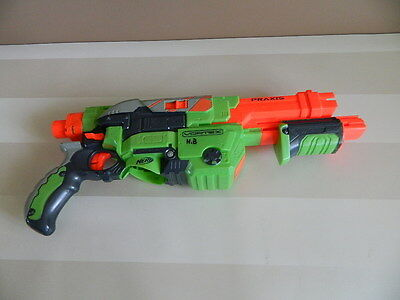 NERF Vortex Praxis Disc Gun Blaster - Faulty needs repair or use for parts
