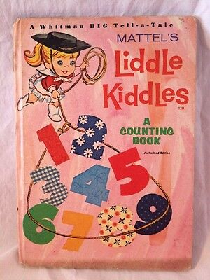 Vintage 1966 Mattel Liddle Kiddles Whitman A COUNTING BOOK Super Cute!