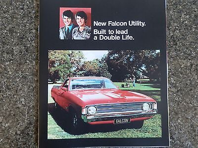 1973 Ford Falcon Xa Ute Sales  Brochure.  100% Guarantee.