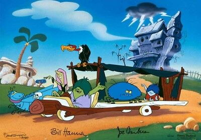 The Flintstones Meet the Gruesomes Hanna-Barbera Limited Editions LE 150 12x16
