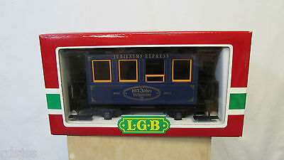 1984 LGB Lehmann Jahreswagen collectors coach New old stock G scale