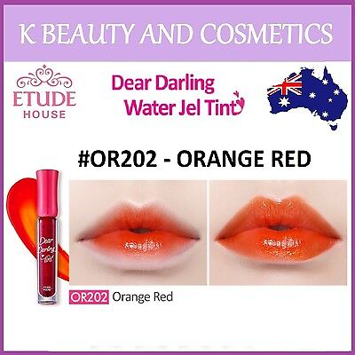 [Etude House] Dear Darling Water Gel Tint (#OR202 ORANGE RED) *NEW 2018* 4.5g