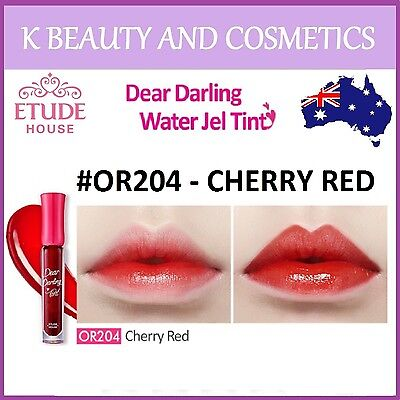[Etude House] Dear Darling Water Gel Tint (#OR204 CHERRY RED) *NEW 2018* 4.5g