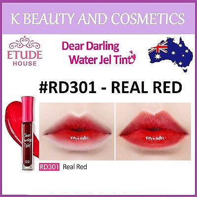 [Etude House] Dear Darling Water Gel Tint (#RD301 REAL RED) *NEW 2016* 4.5g
