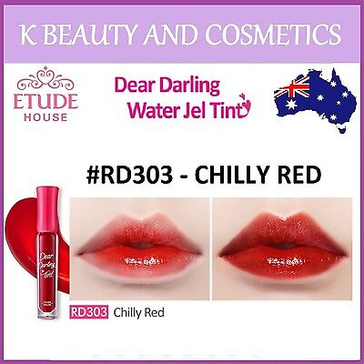 [Etude House] Dear Darling Water Gel Tint (#RD303 CHILLY RED) *NEW 2018* 4.5g