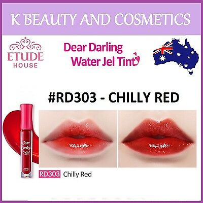 [Etude House] Dear Darling Water Gel Tint (#RD303 CHILLY RED) *NEW 2016* 4.5g