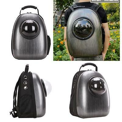 1xAstronaut Pet Cat Dog Carrier Travel Bag Space Capsule Backpack Breathable LI