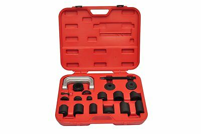 # New 21pc Ball Joint Adapter Set Car Pneumatic Master Remover Service Tool Kit