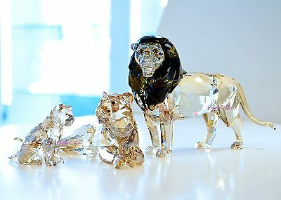 Swarovski 2016 SCS AE Lion Akili Full Set 5135894 5135895 5135896 Brand New Box