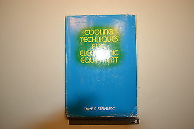 #JB38 COOLING TECHNIQUES FOR ELECTRONIC EQUIPMENT Book by Dave S. Steinberg 1980