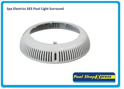 Spa Electrics SE3 Pool Light Surround ( White ) Genuine Spare Part