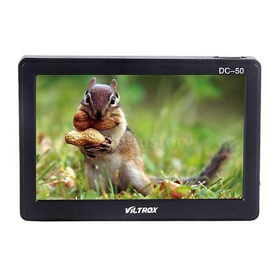 "Viltrox DC-50 HD 5""Inch LCD Video Monitor Wide View for Camera DV Camcorder H2C6"