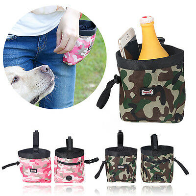 Hot Stylish Pet Dog Puppy Training Treat Snack Bag Feed Bait Pouch Belt Special