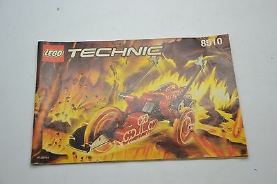 Lego Technic 8510 Instruction Manual Book Booklet Only