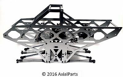 Redcat Ground Pounder Aluminum Chassis w/ Links, Transmission 1/10 Monster Truck