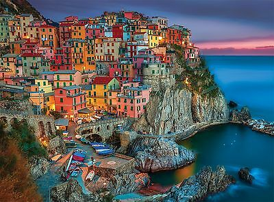 Buffalo Games Signature Series Cinque Terre 1000-Piece Jigsaw Puzzle