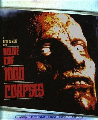 House of 1,000 Corpses (2007, Blu-ray NEUF) BLU-RAY/WS (RÉGION A)