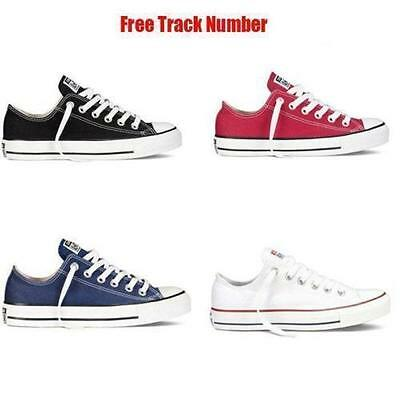 Men ALL STARs Chuck Taylor Ox Low Top shoes casual Canvas Sneakers