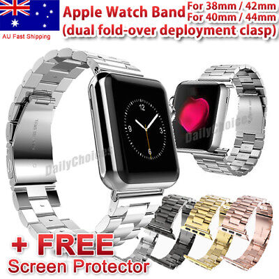 Apple Watch 4 colors Stainless Steel iWatch 2 1 Band Strap 42mm 38mm