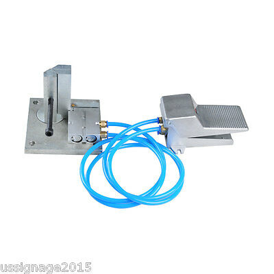 Pneumatic Dual-axis Metal Strip Letter LED Sign Channel Word Bending Bender Tool