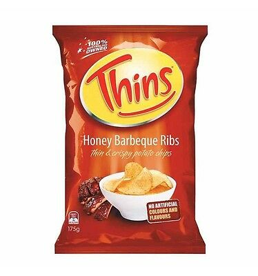 Thins Honey Bbq Ribs 175g