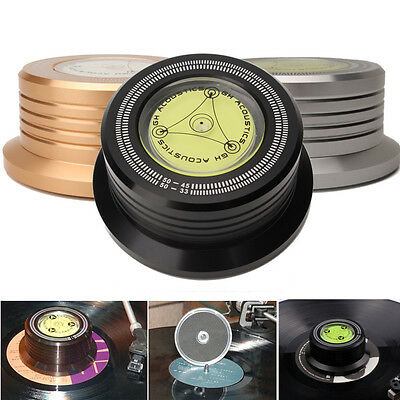 50HZ 3 In 1 Record Clamp LP Disc Stabilizer Turntable For Vibration Balanced