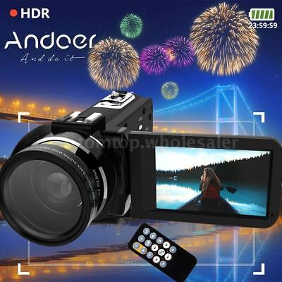 WiFi FULL HD 1080P 24MP 16X ZOOM Touch Screen Digital Video Camera DV Camcorder