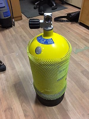 Faber 12 Litre Scuba Diving Cylinder - 232 BAR or 3364 PSI - Recently Tested