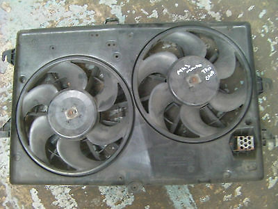 Ford Mondeo Mk3 2001-2007 2.0L Tddi Diesel Double Radiator Cooling Fans